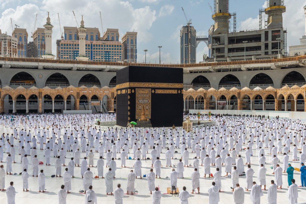 صلاة الجمعة فى المسجد الحرام  (3)