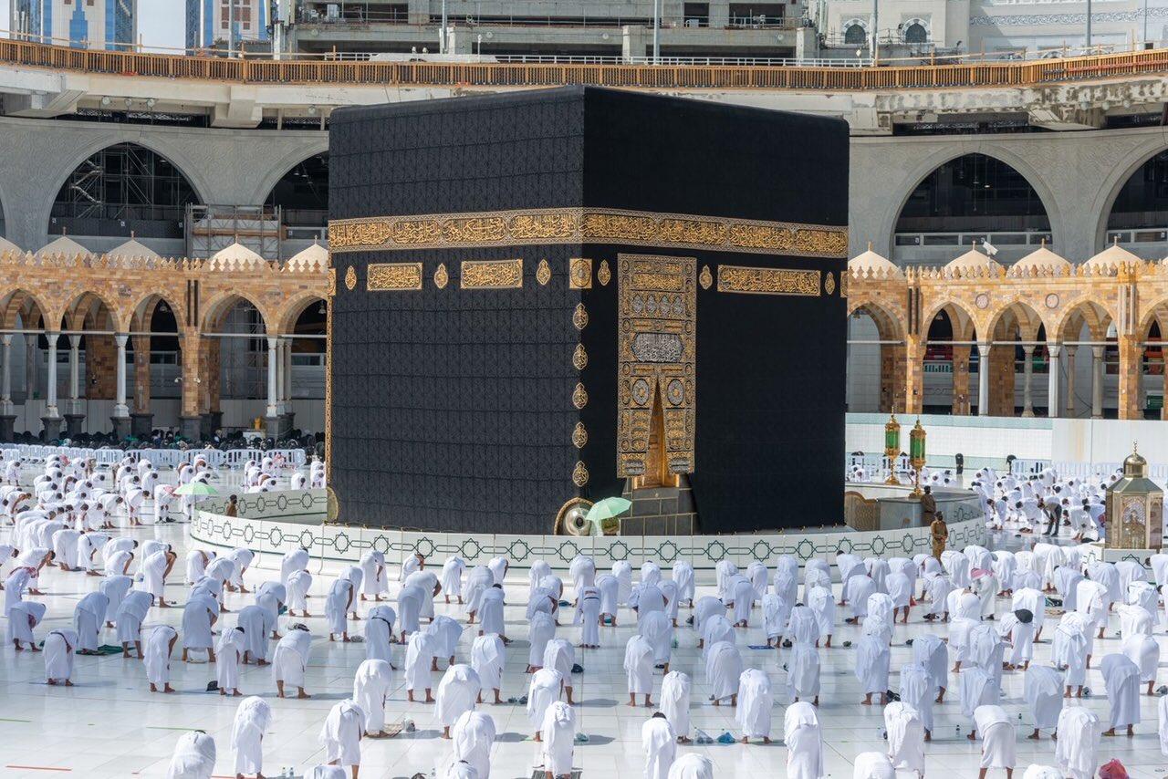 صلاة الجمعة فى المسجد الحرام  (5)