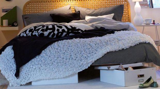 التخزين تحت السرير