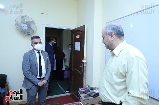 زيارات مفاجئة لوكيل تضامن البرلمان لعدد من دور المغتربات (2)