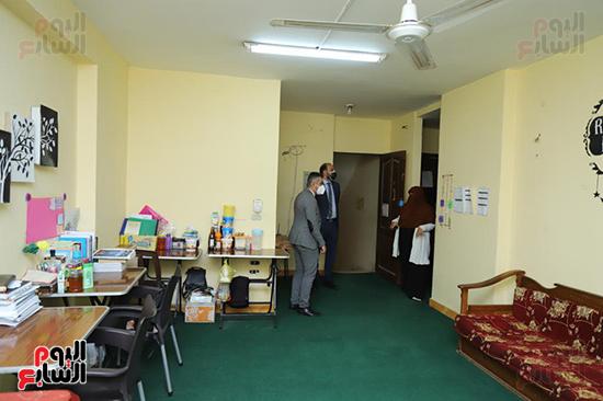 زيارات مفاجئة لوكيل تضامن البرلمان لعدد من دور المغتربات (9)