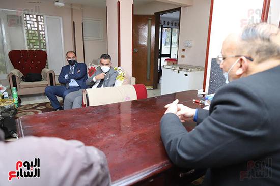 زيارات مفاجئة لوكيل تضامن البرلمان لعدد من دور المغتربات (3)