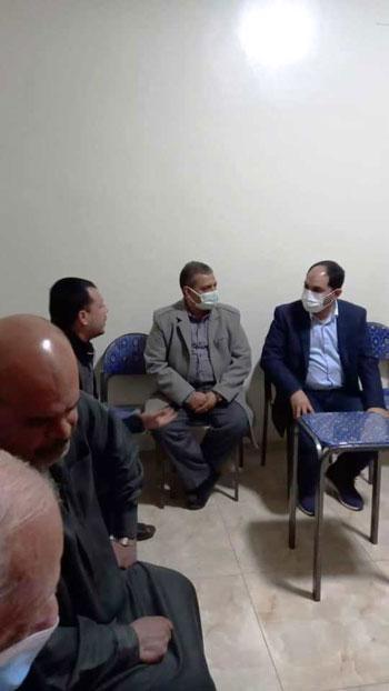عمرو درويش نائب تنسيقية شباب الأحزاب (3)