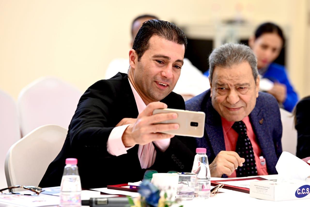 الراحل فهمي الخولي والزميل جمال عبد الناصر