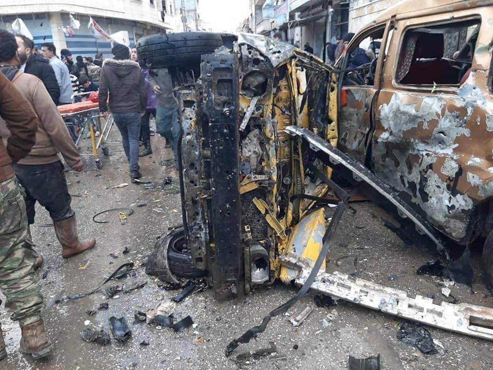 انفجار أعزاز السورية