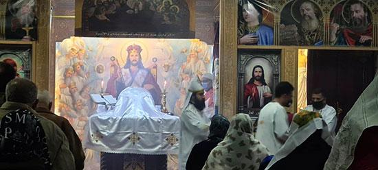 كنائس القاهرة تستأنف القداسات (5)