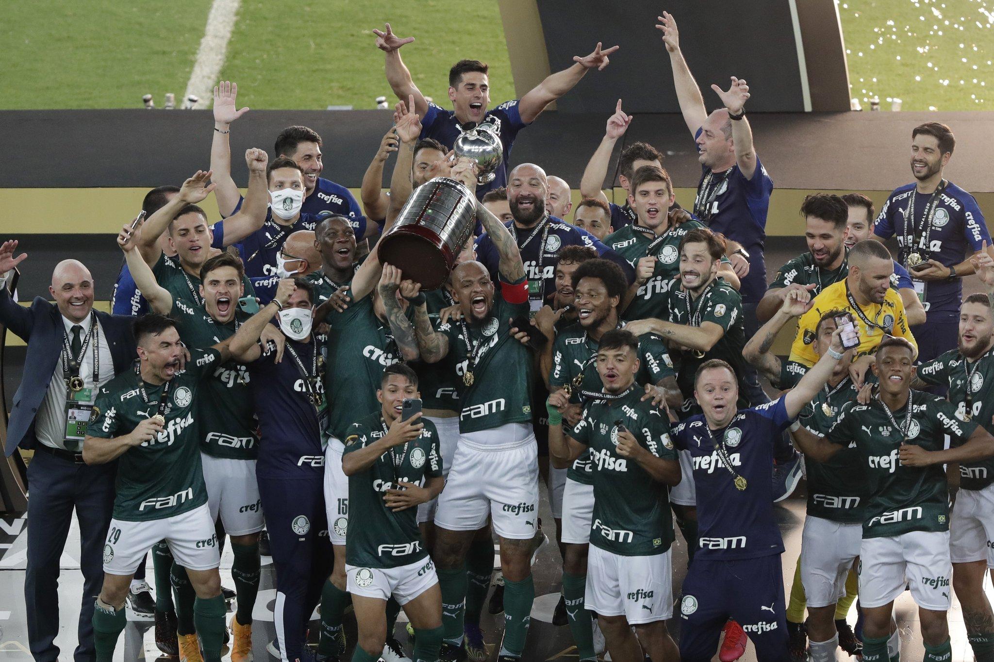بالميراس البرازيلى يتوج بكأس الليبرتادوريس (5)