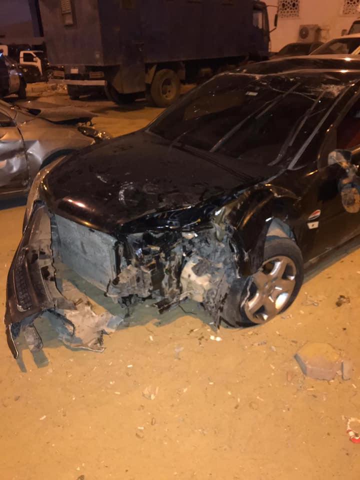 أول صور لحادث انقلاب سيارة فادي خفاجة: يا رب ما حد يشوف اللحظة دى - اليوم  السابع