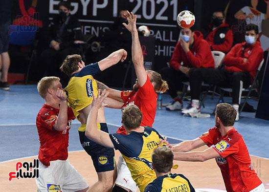 مباراة الدنمارك والسويد