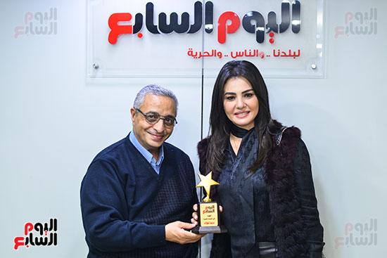 دينا فؤاد سامى وهيب رئيس قسم التصوير