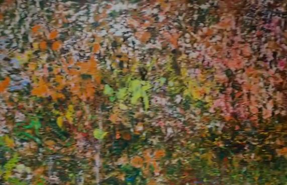 لوحة لأحمد فريد