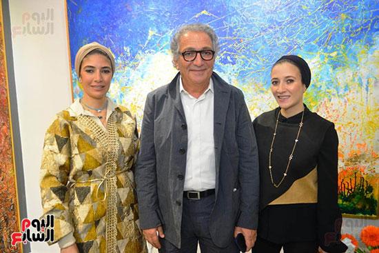 افتتاح معرض الفنان احمد فريد  (33)