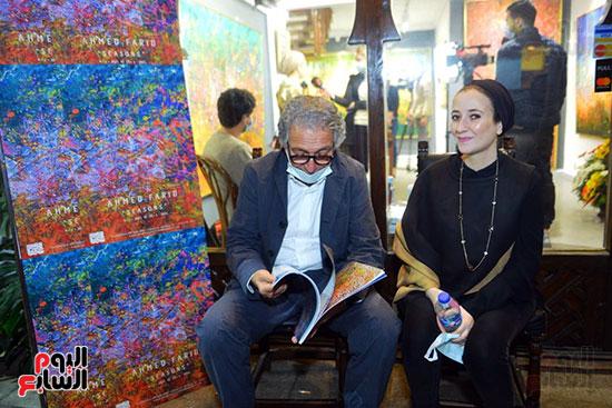 افتتاح معرض الفنان احمد فريد  (44)