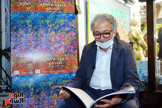 افتتاح معرض الفنان احمد فريد  (45)