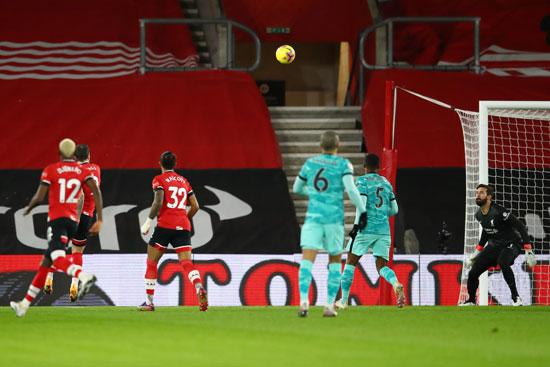 Snapshot - goal - Southampton - early