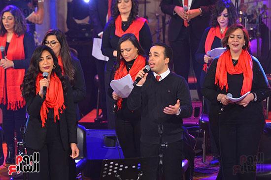 الاحتفال بعيد الميلاد  بكيسة قصر الدوبارة (23)