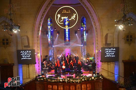 الاحتفال بعيد الميلاد  بكيسة قصر الدوبارة (4)