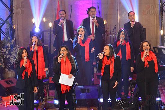 الاحتفال بعيد الميلاد  بكيسة قصر الدوبارة (2)