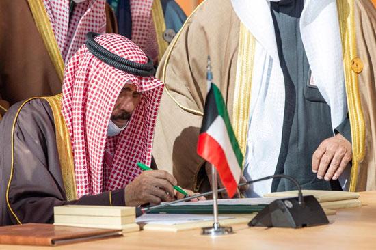 أمير الكويت الشيخ نواف