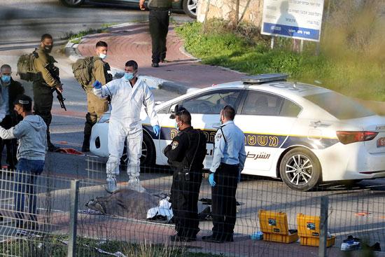 جثة الفلسطيني المقتول