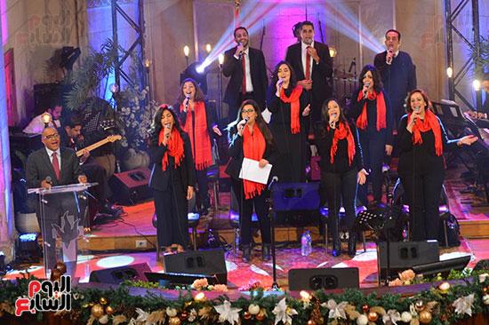 الاحتفال بعيد الميلاد  بكيسة قصر الدوبارة (3)