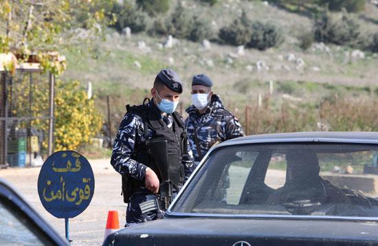 إجراءات الحظر في لبنان
