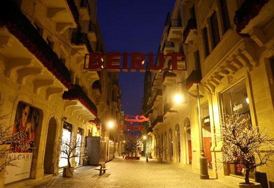 شوراع لبنان