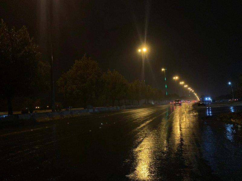 امطار في السعودية مساء اليوم