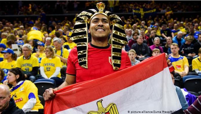 مشجع مصري فى مونديال 2009