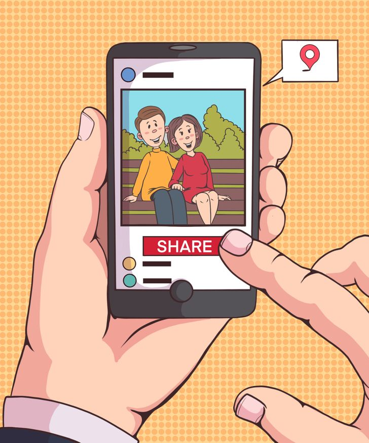 Avoid sharing your location