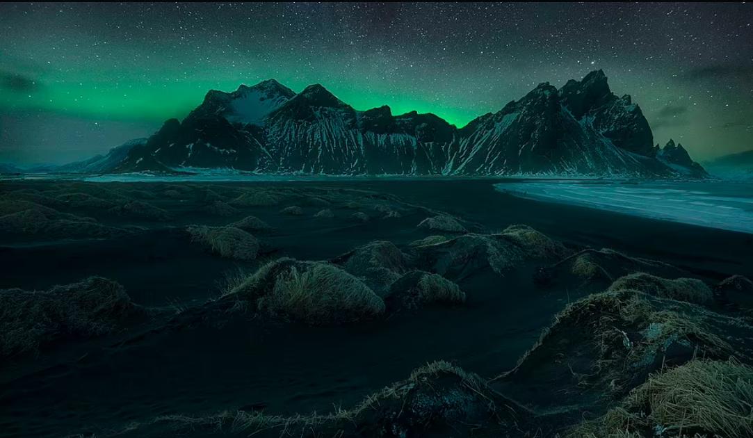 التضاريس المتجمدة فى ايسلندا