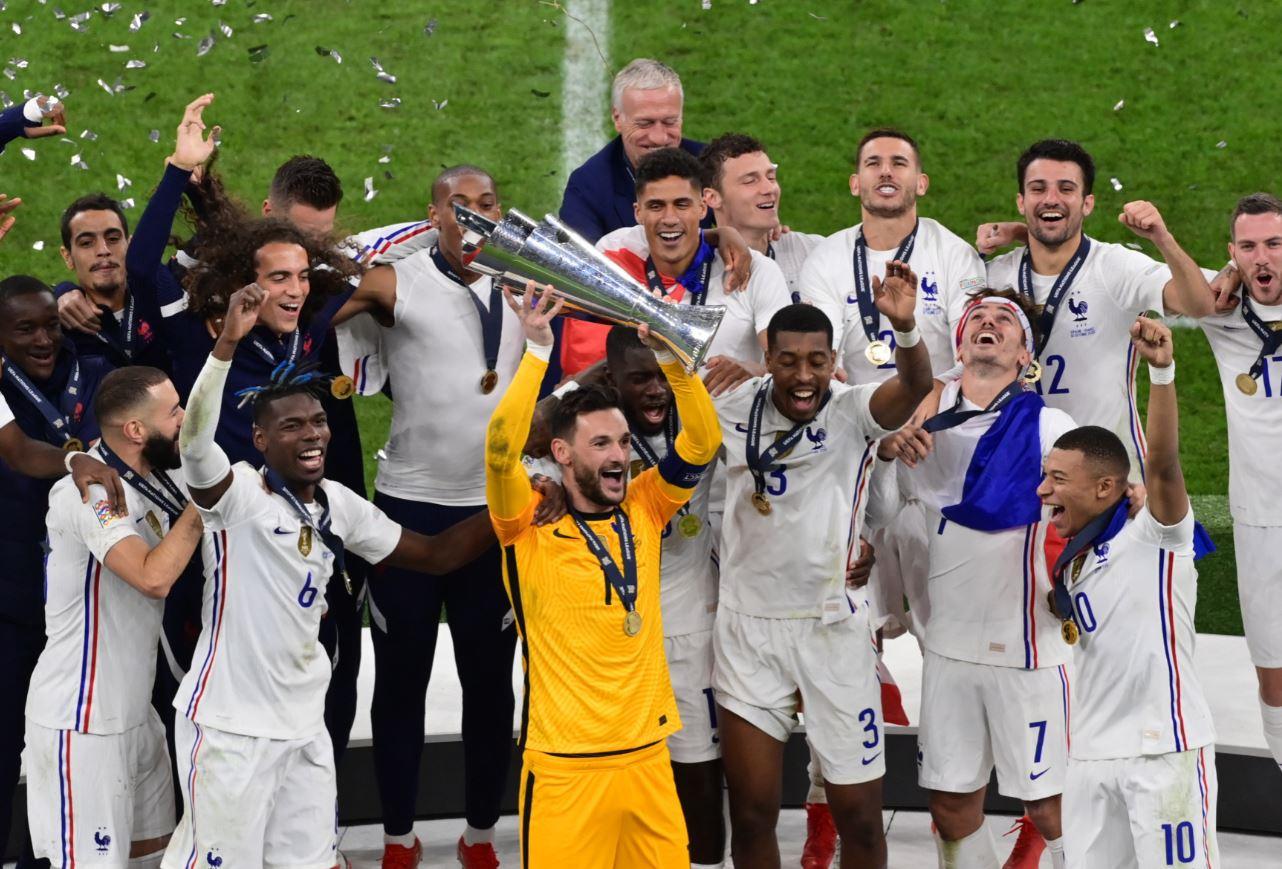 دوري الأمم الأوروبية وتتويج منتخب فرنسا