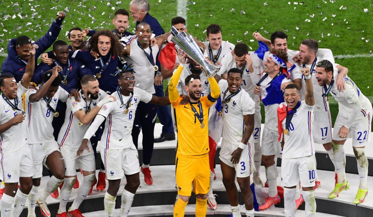 منتخب فرنسا بطل دوري الأمم الأوروبية 2021