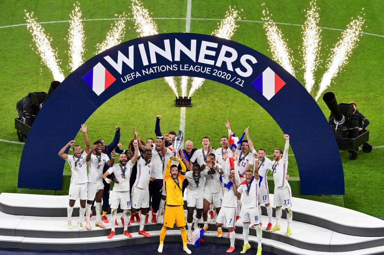 منتخب فرنسا بطل دوري الأمم الأوروبية