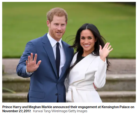 Meghan and Harry are engaged