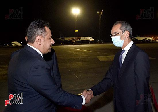 رئيس مجلس الوزراء يستقبل نظيره اليمنى (5)
