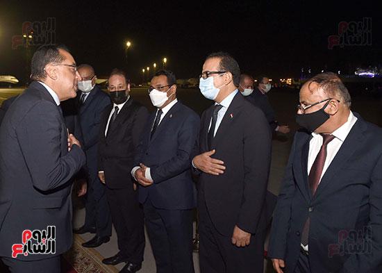 رئيس مجلس الوزراء يستقبل نظيره اليمنى (8)