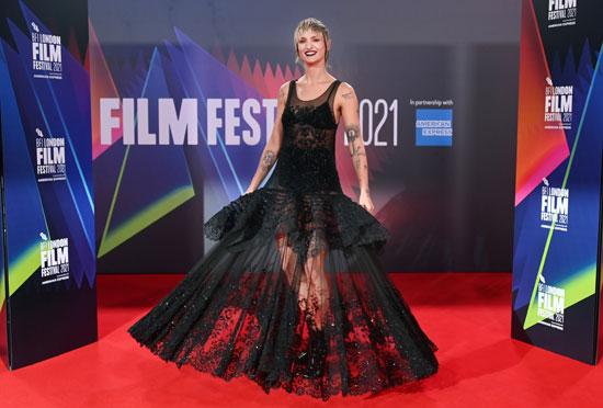 الممثلة الفرنسية  أجاثا روسيل