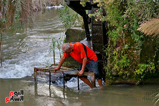 سواقي  محافظةالفيوم تدفع ذاتيا بالمياه