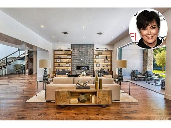 Kris Jenner's living room Photo Trulia