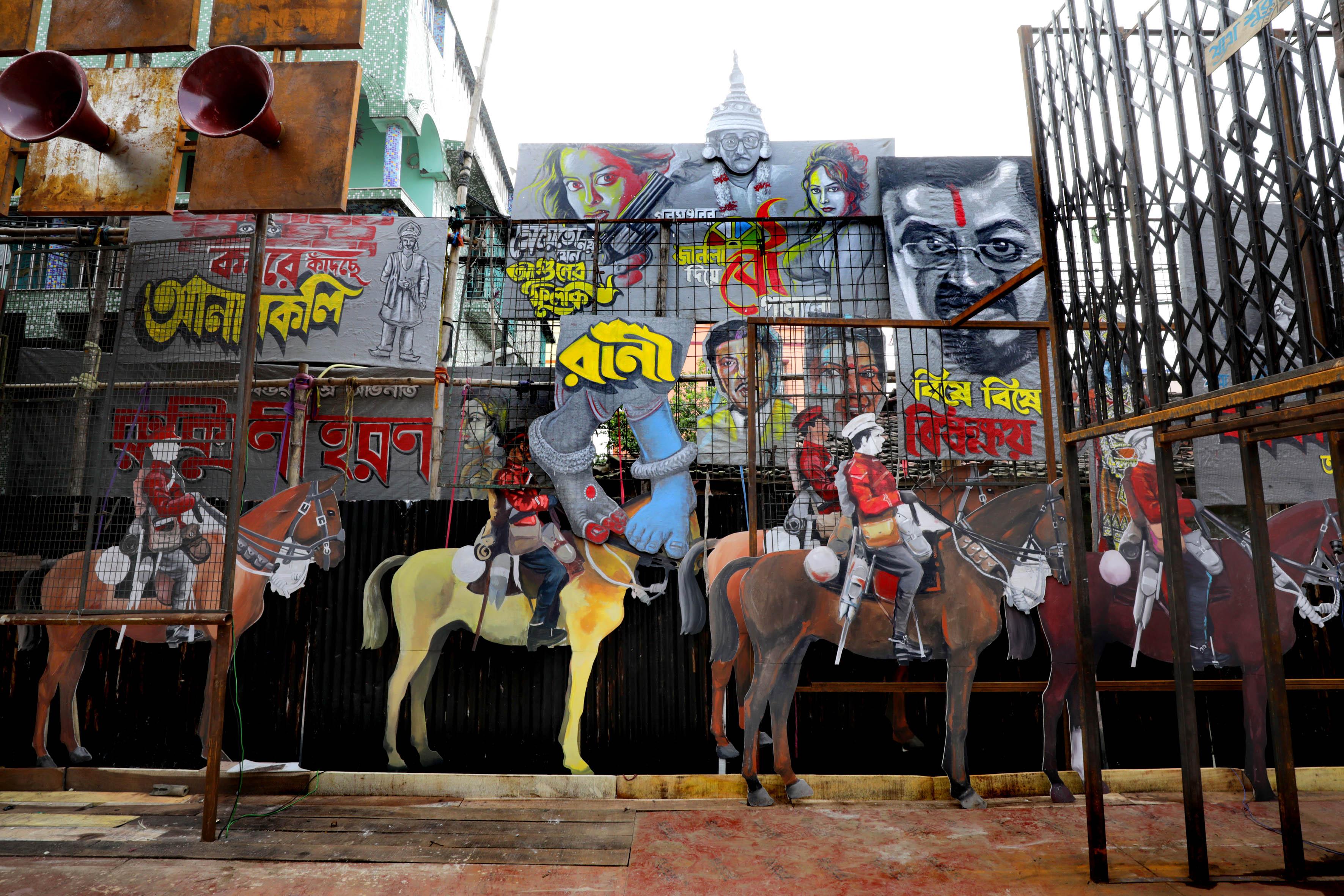 احتفالات مهرجان دورجا بوجا