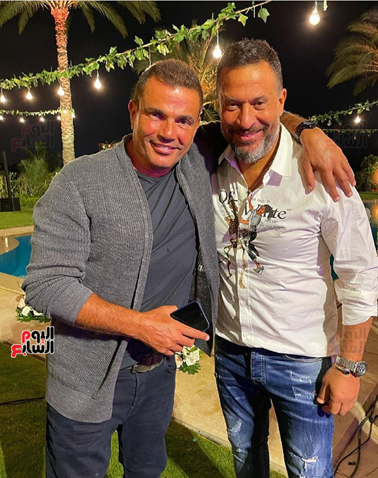 عمرو دياب و ماجد المصرى