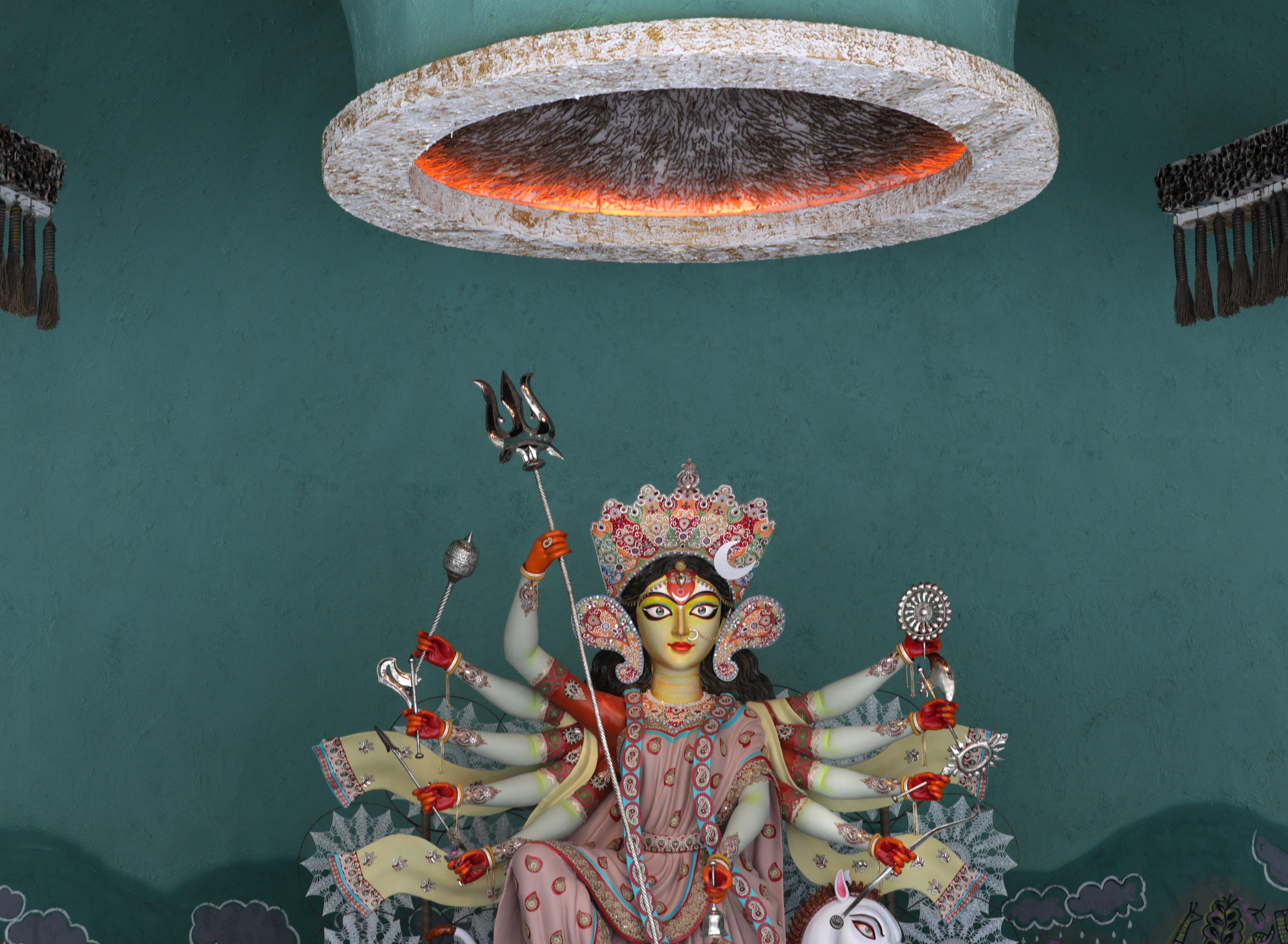 لوحة للفنان براديب داس