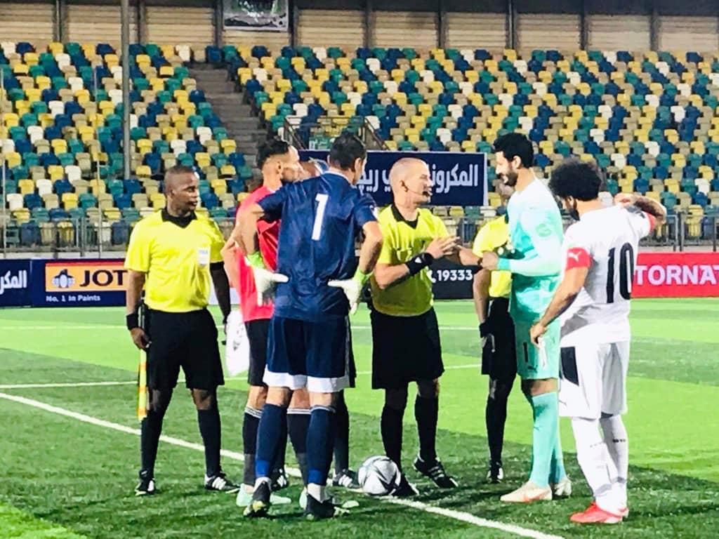منتخب مصر أمام ليبيا
