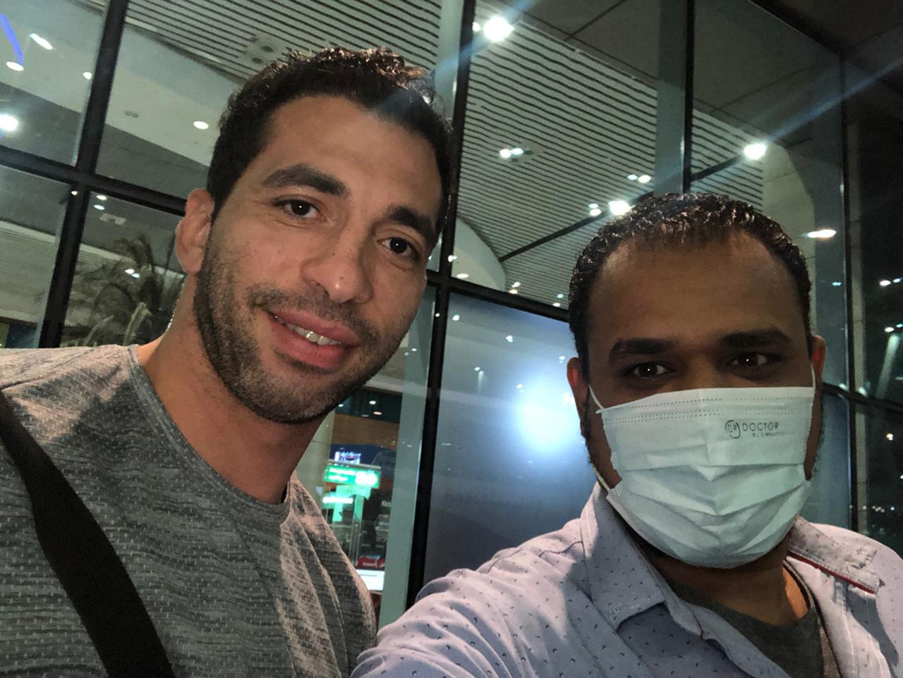 بعثة الزمالك لكرة اليد تصل القاهرة بعد انتهاء مشوارها ببطولة العالم للأندية  (2)