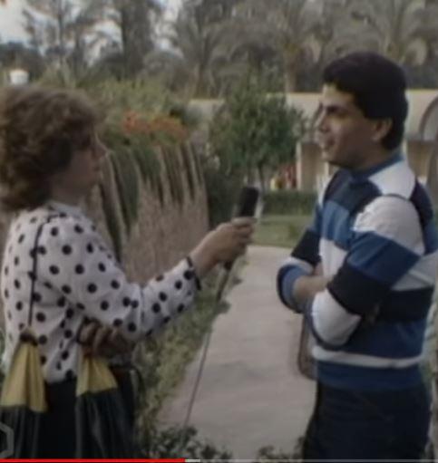 عمرو دياب و الاعلامية فريال صالح