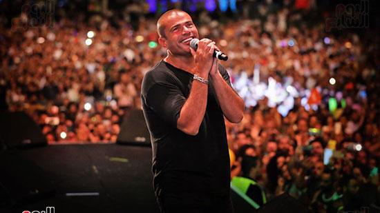 عمرو دياب و الجمهور