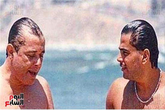 عمرو دياب و محمود عبد العزيز