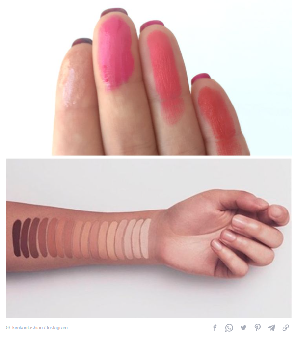 Choose the color of your cosmetics carefully