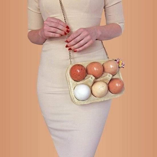Egg carton bag